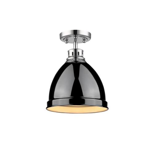 Golden Lighting 3602-FM Duncan - 1 Light Flush Mount