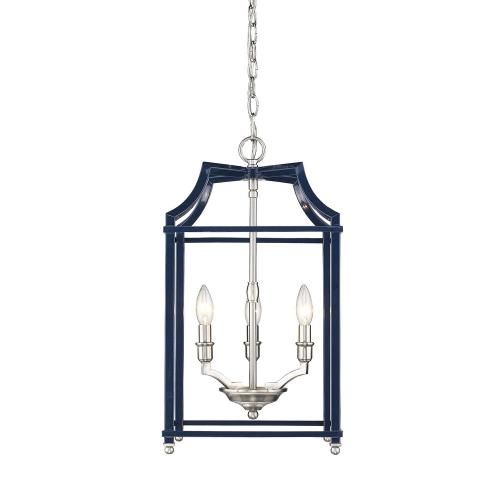 Golden Lighting 8401-3P Leighton - 3 Light Pendant