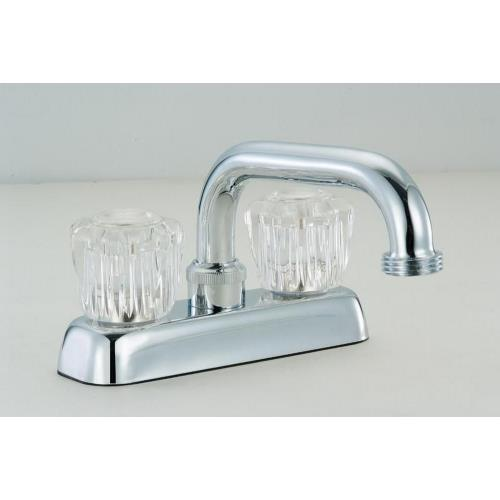"Hardware House 124812 6.50"" Double Handle Laundry Faucet"