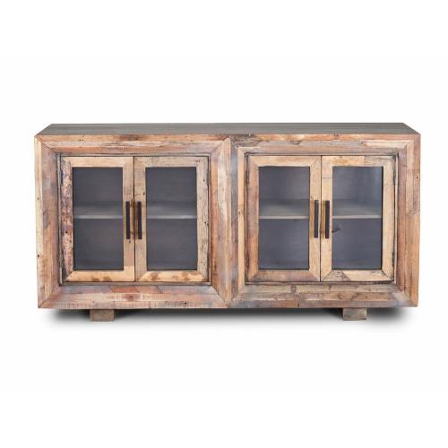 Harp & Finial HFF24901DS Hughes - 80 Inch 4 Door Sideboard