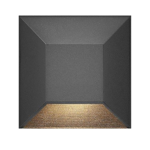 Hinkley Lighting 15222 Nuvi - 1.2W LED Square Deck Light - 3 Inches Wide by 3 Inches High