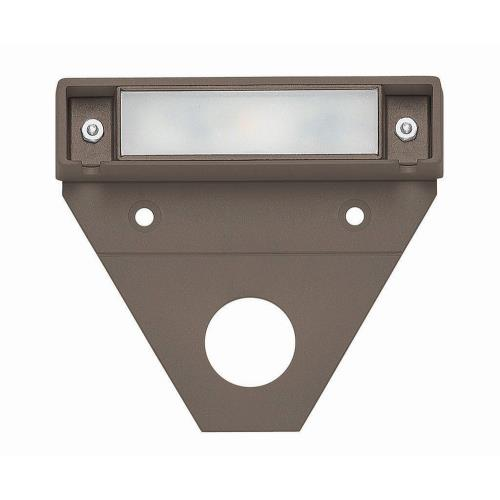 Hinkley Lighting 15444 Nuvi - 1.1W LED Small Deck Light - 3.25 Inches Wide by 0.75 Inches High