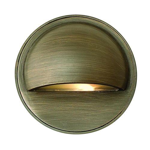 Hinkley Lighting 16801 Hardy Island - Round Eyebrow Low Voltage 1 Light Deck/Step Lamp