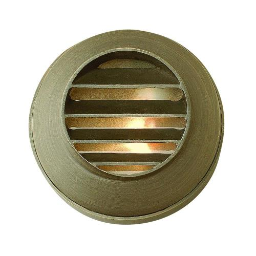 Hinkley Lighting 16804 Hardy Island - Round Louvered Low Voltage 1 Light Deck/Step Lamp