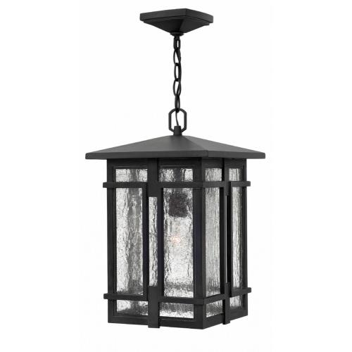 Hinkley Lighting 1962 Tucker - One Light Outdoor Hanging Lantern in Transitional, Craftsman Style - 11 Inches Wide by 17.5 Inches High