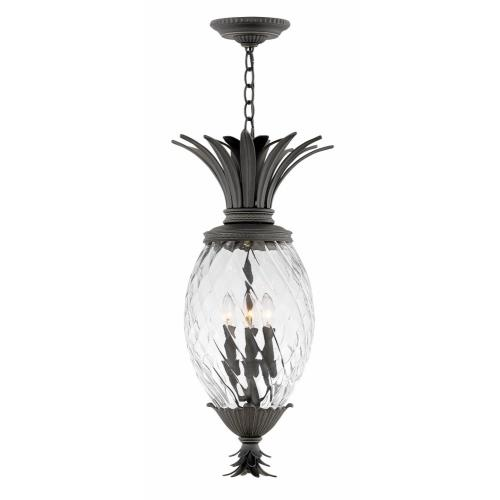 Hinkley Lighting 2122MB Plantation - Four Light Outdoor Small Hanging Lantern