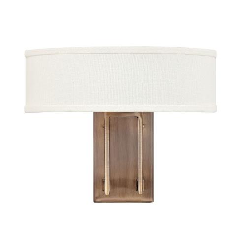 Hinkley Lighting 3202 Hampton - 2 Light Wall Sconce in Transitional Style - 15 Inches Wide by 12 Inches High
