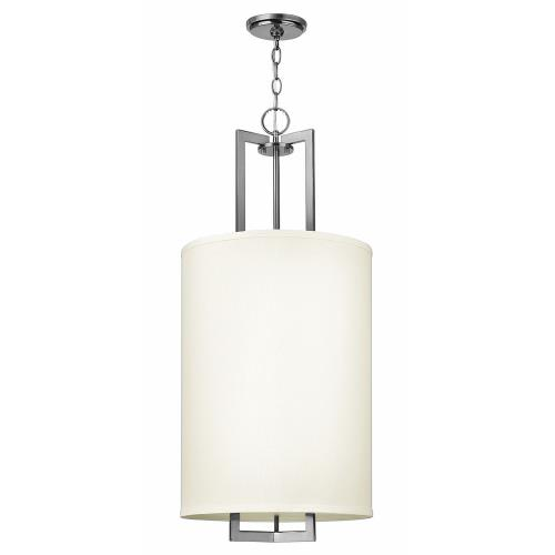 Hinkley Lighting 3205 Hampton - 3 Light Large Drum Pendant in Transitional Style - 16 Inches Wide by 32.75 Inches High