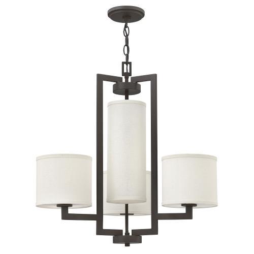 Hinkley Lighting 3209 Hampton - 24.5 Inch Four Light Chandelier
