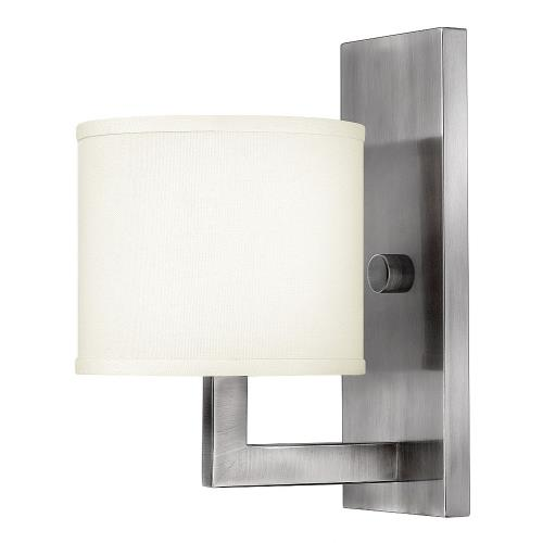 Hinkley Lighting 3210 Hampton - 1 Light Wall Sconce in Transitional Style - 6.75 Inches Wide by 12 Inches High