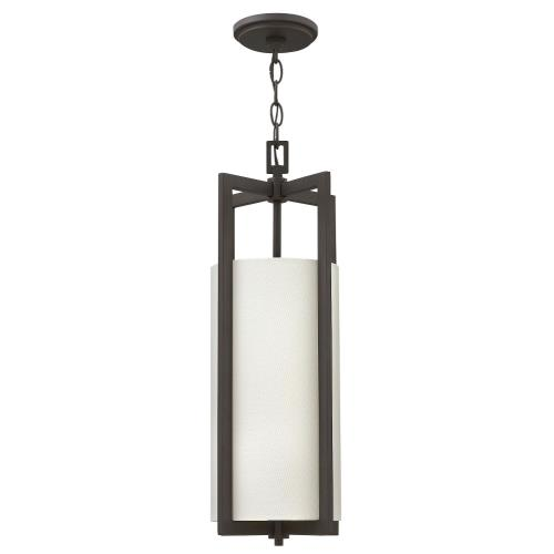 Hinkley Lighting 3217 Hampton - 1 Light Small Drum Pendant in Transitional Style - 9.25 Inches Wide by 22.5 Inches High