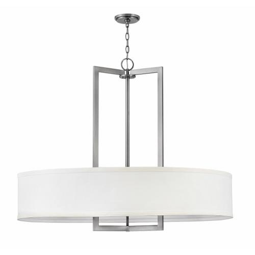 Hinkley Lighting 3219 Hampton - 9 Light Large Drum Chandelier in Transitional Style - 40 Inches Wide by 33.5 Inches High