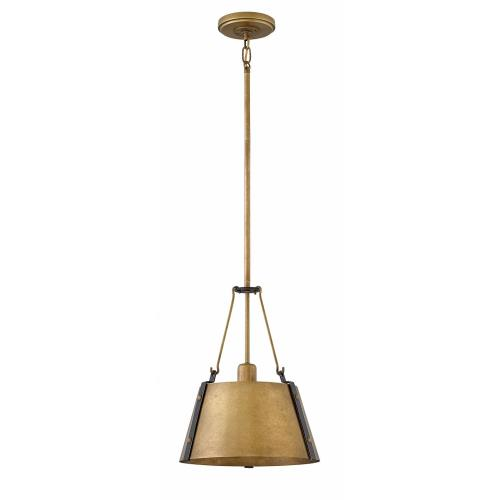 "Hinkley Lighting 3397 Cartwright - 14.75"" One Light Pendant"