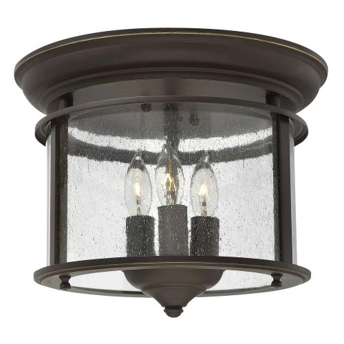 "Hinkley Lighting 3473 Gentry - 9"" Three Light Foyer"