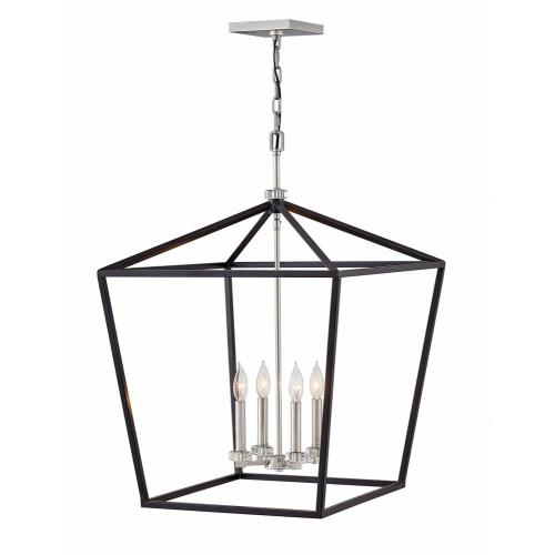 Hinkley Lighting 3538 Stinson - 4 Light Extra Large Open Frame Chandelier in Transitional Style - 22 Inches Wide by 31.5 Inches High