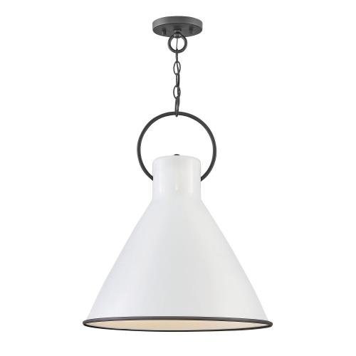 Hinkley Lighting 3555 Winnie - 1 Light Pendant in Traditional Style - 18 Inches Wide by 21.5 Inches High