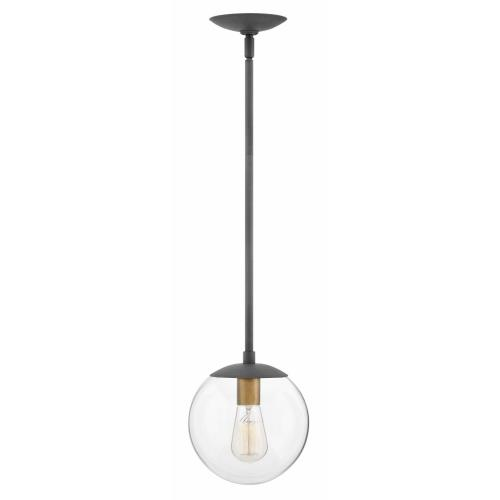 Hinkley Lighting 3747 Warby - One Light Pendant in Mid-Century Modern, Scandinavian Style - 9.5 Inches Wide by 10.75 Inches High