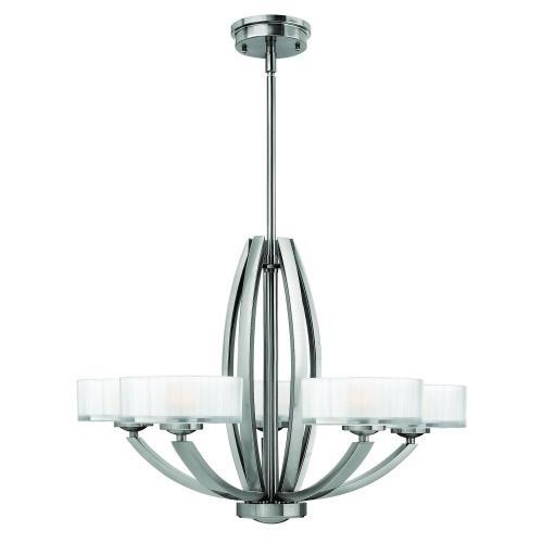 Hinkley Lighting 3875 Meridian - Five Light Chandelier
