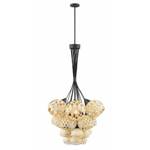 Hinkley Lighting 3899OZ Edie - Nineteen Light Multi-Tier Chandelier