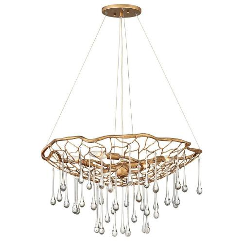 Hinkley Lighting 45304BNG Laguna - Four Light Medium Chandelier