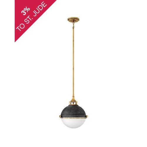 Hinkley Lighting 4834 Fletcher - Two Light Stem Hung Pendant