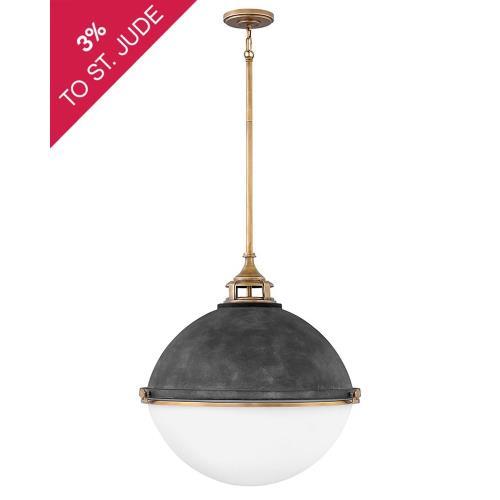 Hinkley Lighting 4836 Fletcher - 3 Light Large Orb Chandelier