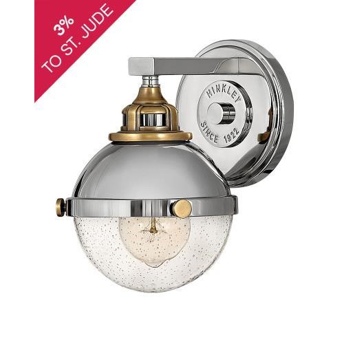 Hinkley Lighting 5170 Fletcher - 1 Light Bath Vanity