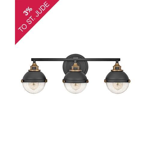 Hinkley Lighting 5173 Fletcher - 3 Light Bath Vanity