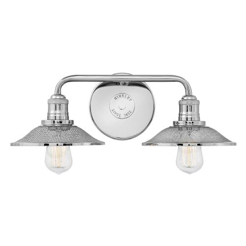 Hinkley Lighting 5292 Rigby - 2 Light Bath Vanity in Industrial Style - 19 Inches Wide by 6.5 Inches High