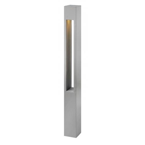Hinkley Lighting 55602 Atlantis - 30 Inch 120V 8W LED Square Large Bollard