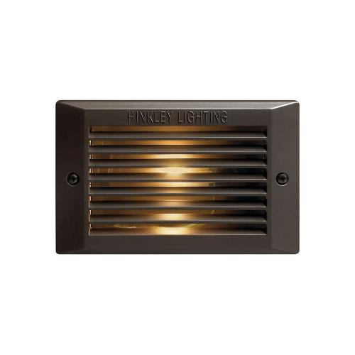 Hinkley Lighting 58015 Line Voltage LED Line Voltage Step Lamp - 7.375 Inches Wide by 3.75 Inches High