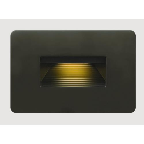 Hinkley Lighting 58508 Luna - 3 Inch 120V 4W LED Horizontal Step Light