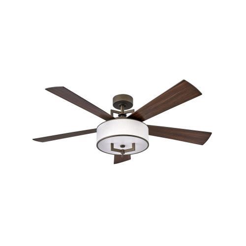 Hinkley Lighting 903056F Hampton - 56 Inch 5 Blade Ceiling Fan with Light Kit