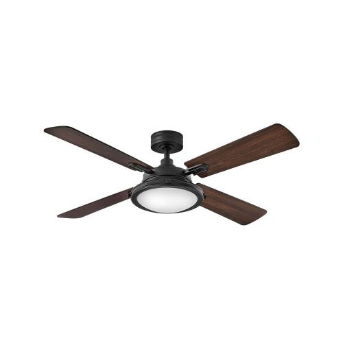 Hinkley Lighting 903254F Collier - 54 Inch 4 Blade Ceiling Fan with Light Kit