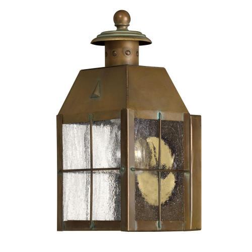 Hinkley Lighting 2376AS Nantucket Brass Outdoor Lantern Fixture