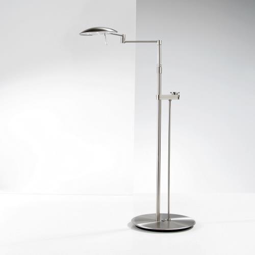 Holtkotter Lighting 6317LEDSLD Chairside - 40 Inch 88W 8 LED Floor Lamp with Side Line Dimmer