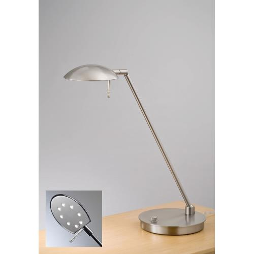 "Holtkotter Lighting 6477LED Bernie Turbo - 20.5"" 88W 8 LED Low-Voltage Table Lamp"