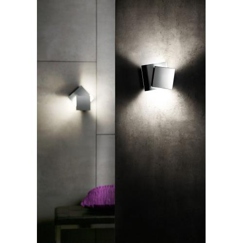 Holtkotter Lighting 9520LED Cubic - 5.9 Inch 17.4W 2 LED Wall Sconce