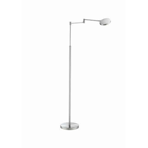Holtkotter Lighting 9656LED Glanz - 37.4 Inch 14.5W 1 LED Swing Arm Floor Lamp