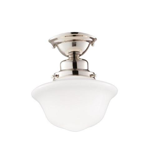 Hudson Valley Lighting 1609F Edison - One Light Semi Flush Mount - 9 Inches Wide by 10 Inches High