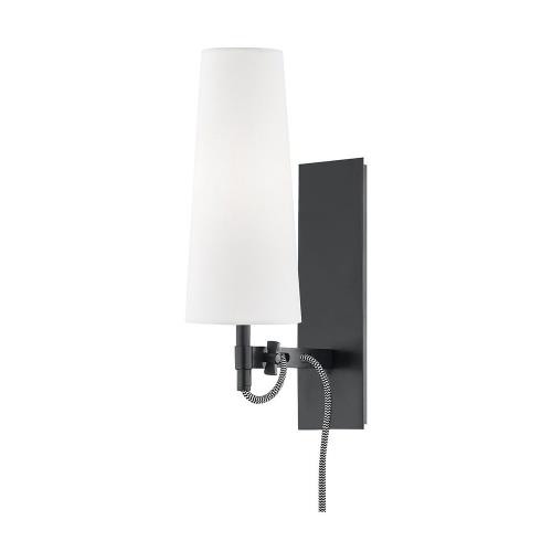 Hudson Valley Lighting 2421 Lanyard - 8 Inch 5W 1 LED Wall Sconce in Contemporary Style - 4 Inches Wide by 13 Inches High