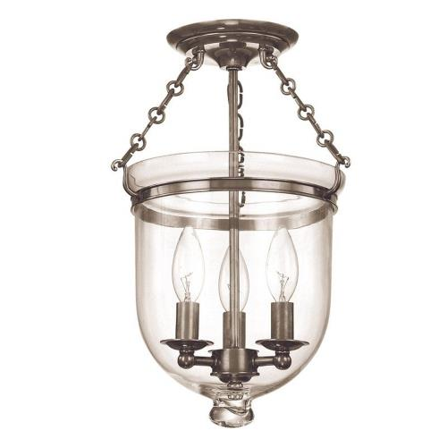 Hudson Valley Lighting 251-C1 Hampton - Three Light Flush Mount - 10.25 Inches Wide by 14.75 Inches High