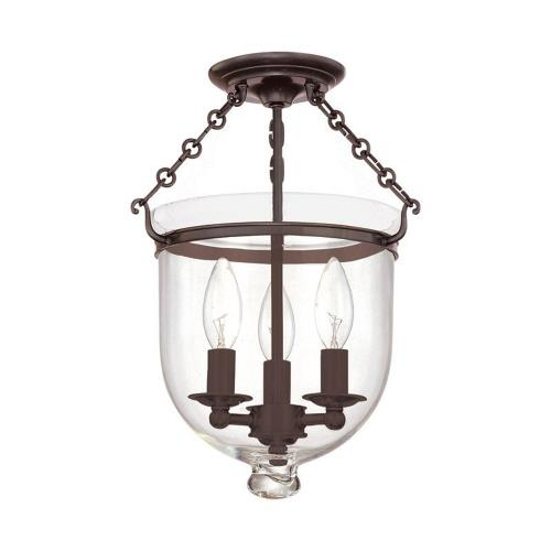Hudson Valley Lighting 251-116-G1 Hampton - Three Light Flush Mount - 10.25 Inches Wide by 14.75 Inches High
