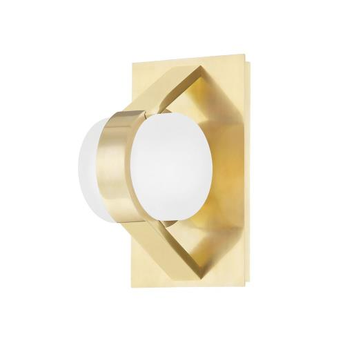 Hudson Valley Lighting 2700 Orbit - 8 Inch 10W 1 LED Wall Sconce in Contemporary/Modern Style - 4.75 Inches Wide by 8 Inches High