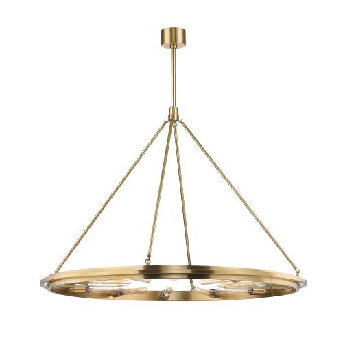 Hudson Valley Lighting 2745 Chambers 12-Light Pendant - 45 Inches Wide by 34 Inches High