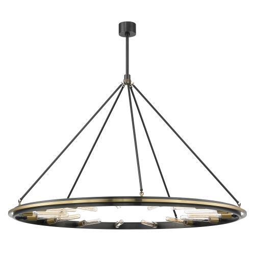 Hudson Valley Lighting 2758 Chambers 15-Light Pendant