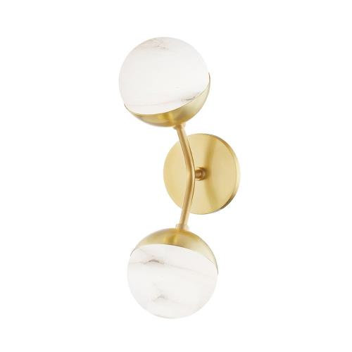 Hudson Valley Lighting 2832 Saratoga - 15.75 Inch 8W 2 LED Wall Sconce in Contemporary/Modern Style - 5 Inches Wide by 15.75 Inches High