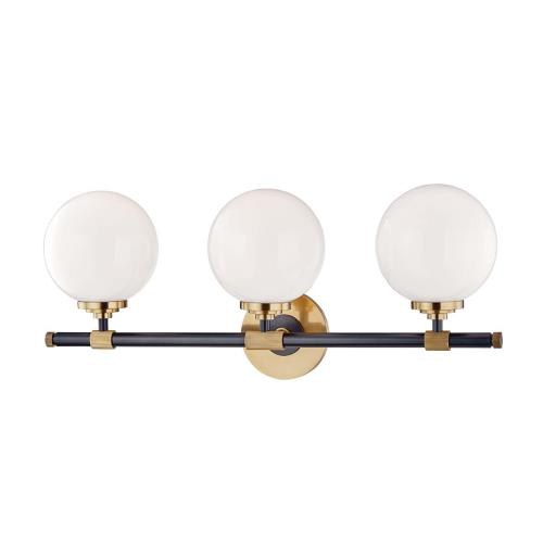 Hudson Valley Lighting 3703 Bowery Three Light Bath Bracket - 23.75 Inches Wide by 10 Inches High