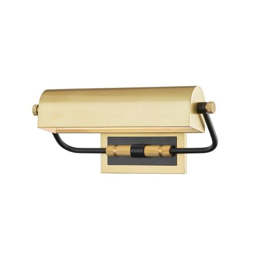 Hudson Valley Lighting 3714 Bowery - One Light Picture Light in Transitional Style - 13.25 Inches Wide by 5.5 Inches High