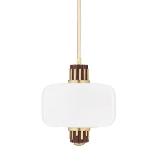 Hudson Valley Lighting 3817 Peekskill Pendant 1 Light in Contemporary Style - 17 Inches Wide by 20.75 Inches High